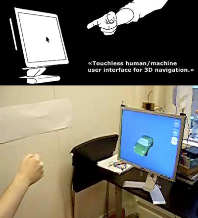touchless user interface