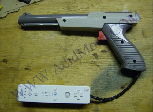 Cool Mods - The Wii Nes Light Gun Mod