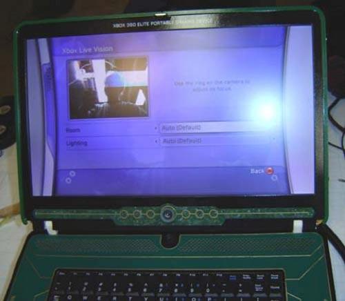 The Halo 3 Xbox 360 Elite Laptop Mod
