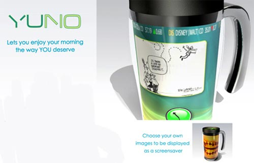 Cool Concepts - The Coffee Cup PC - The Yuno PC