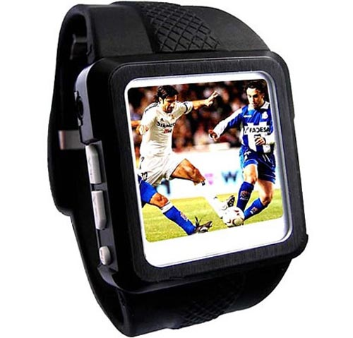 Geeky Watches - The 2GB Video Watch with OLED Screen