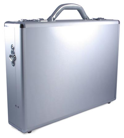 Geeky Accessories - The James Bond Sytle Aluminium Laptop Briefcase
