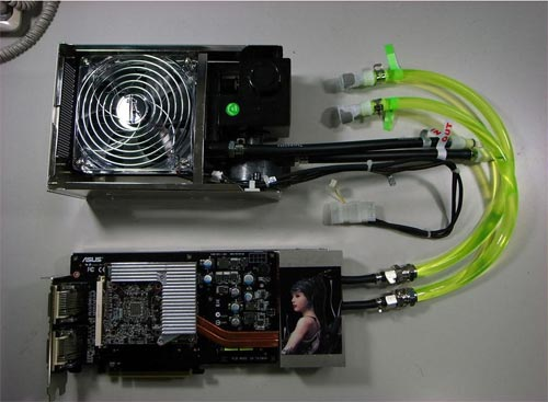 ASUS EAH3850 Trinity Graphics Card - three GPUs on one card