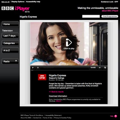 BBC iPlayer now available on the iPhone and iPod Touch
