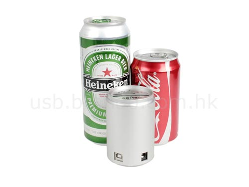 Fun Gadgets - The Beer Can Shaped USB Hub and Card Reader