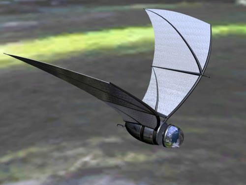 Crazy Gadgets - The Solar Powered Spy Bat - The COM-BAT