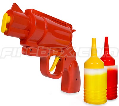 Fun Gadgets - The Condiment Gun
