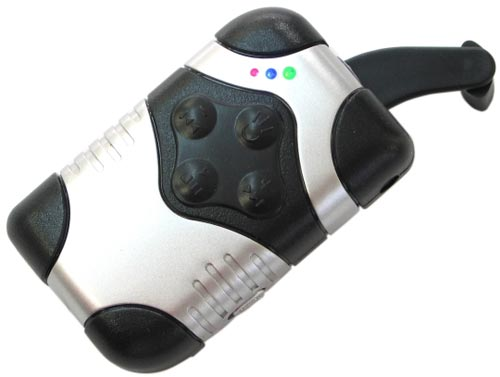 Fun Gadgets - The Cranking MP3 Player - the hand powered MP3 player