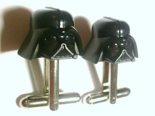 Geeky Accessories – The Star Wars Darth Vader Cufflinks