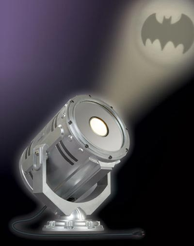 Fun Gadgets - The Desktop Bat Signal