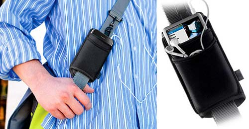 Geeky Accessories - The DLO Strap Wrap keeps your iPhone Safe