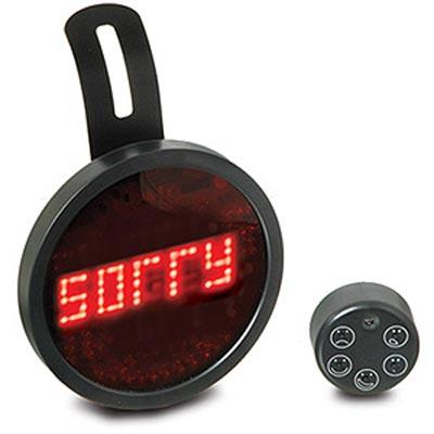 Fun Gadgets – The Drivemocion LED Car Message Sign
