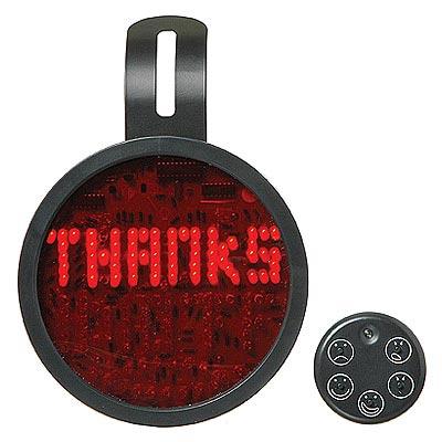 Fun Gadgets - The Drivemocion LED Car Message Sign