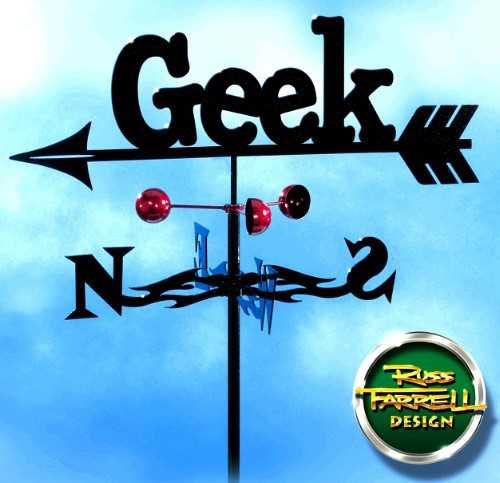 Totally Geeky - The Handmade Geek Weathervane