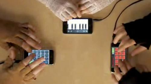 iBand recreate the iPhone advert - Video