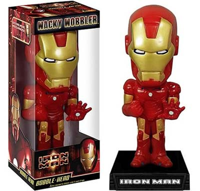 Geeky Toys - The Iron Man Bobble Head