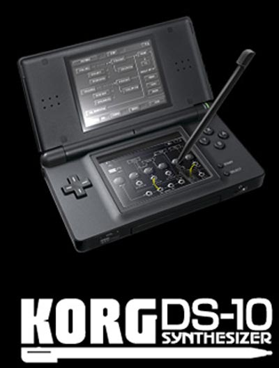 Turn your Nintendo DS into a digital synthesizer with Korg DS-10 Synth