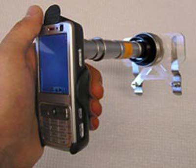 Remote Microscopy - The Cellphone Microscope