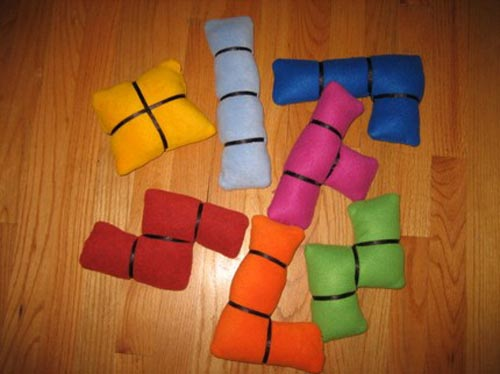 plush tetris