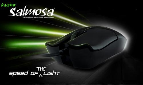 Razers new gaming mouse - The Razer Salmosa
