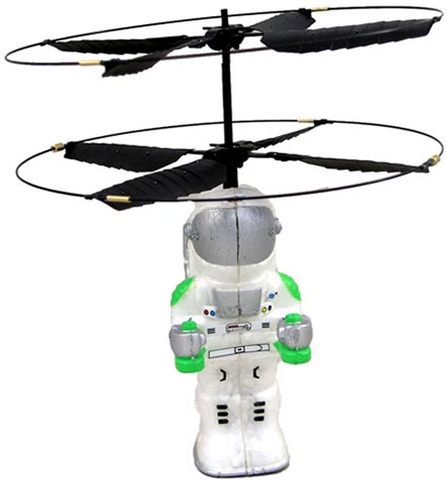 Geeky Toys – The Z Flyer Hand Command RC Flying Astronaut