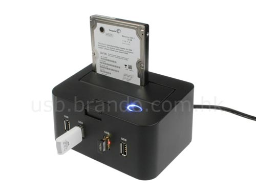 USB Gadgets  - The SATA HDD Dock with built in USB Hub