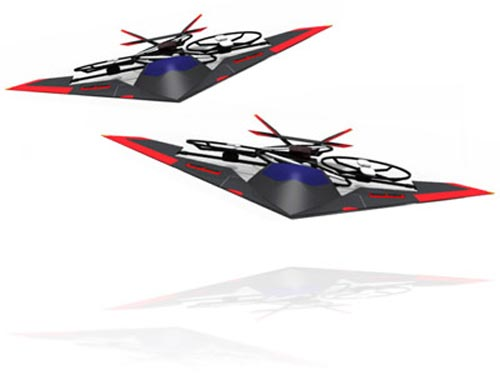 Geeky Toys - The Snelflight VTOl Jump Jet RC Aircraft