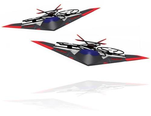 Geeky Toys - The Snelflight VTOl Jump Jet RC Aircraft