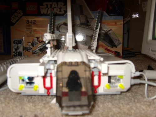 The Lego Star Wars Imperial Lander PC