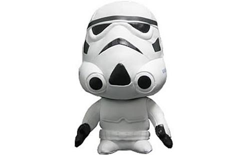 Geeky Toys - The Star Wars Stormtrooper Plush
