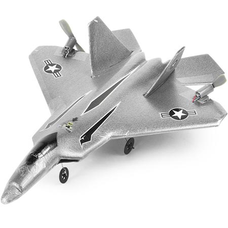 Geeky Toys - The Top Gun RC Microfighter