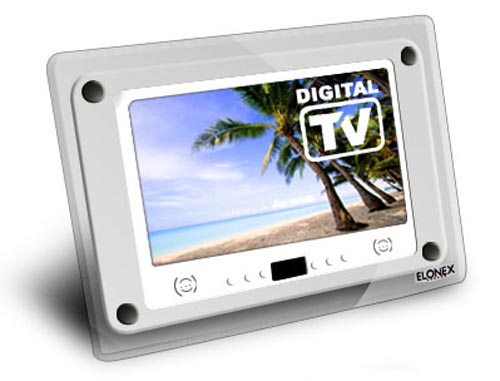Digital Photo Frame with built in TV