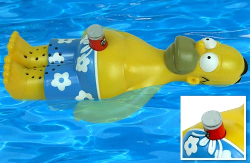 Fun Gadgets The Homer Simpson Floating Radio