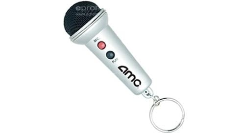 mini microphone keychain voice recorder