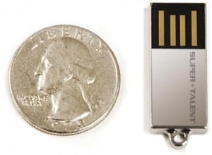 The World's Smallest 8GB Flash Drive From Super Talent – The Pico-C