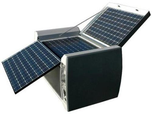 ... Gadgets – The not so portable, Powercube Portable Solar Generator