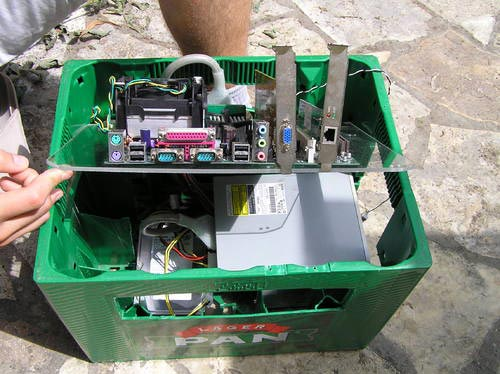 beer crate pc mod