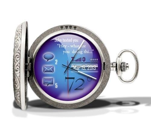 Cobalt Pocket Watch