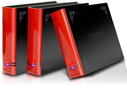 Hardbox external hdd enclosure