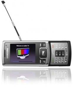 Samsung SGH-P960 3G DVB-H TV Cell Phone