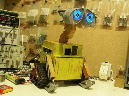 homemade Wall E-Robot
