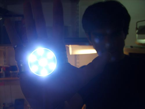diy iron man repulsor