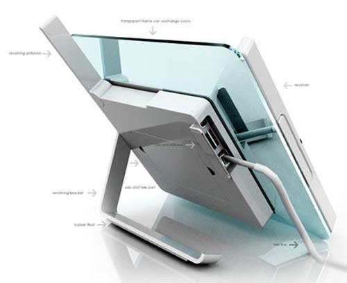 digital phone frame phone