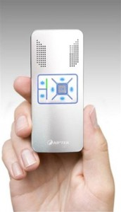 Aiptek Launches a Tiny Pocket Video Projector – The PocketCinema V10