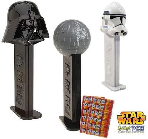 giant star wars pez dispensers