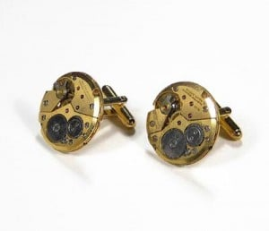 Feature – Geeky Accessories – Steampunk Cufflinks