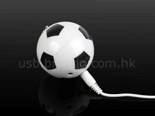 usb mini football speaker