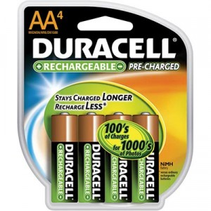 Review – Duracell Pre-Charged Batteries