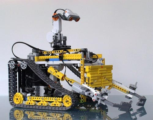 Cool Mods The Lego Wall E Trash Collecting Robot