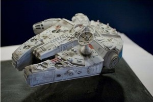 Totally Geeky – The Millennium Falcon Birthday Cake